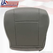 2009 2010 Ford Econoline Wagon Driver Bottom Replacement vinyl Seat Cover GRAY