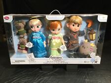 Disney ANIMATORS Collection Frozen Elsa Anna Kristoff Dolls Box Set