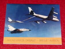 [COLLECTION AVIATION] CATALOGUE / AVIONS MARCEL DASSAULT - BREGUET 1983 Photos