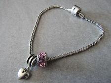 Rhona Sutton sterling silver charm bracelet