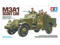 Tamiya 35363 1/35 Scale Model Kit WWII U.S/Soviet Army M3A1 Armored Scout Car