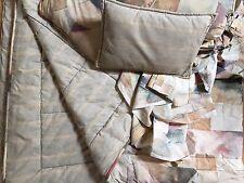 Croscill Colera Classics Queen Set Comforter, Bed Skirt, 2 Shams 3 pillows