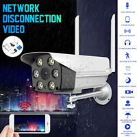 1080P Wireless Wifi LED Camera Ultra Clear Outdoor Security Full Color Night