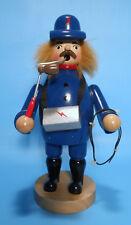 Räuchermann Räucherfigur Elektriker blau 20 cm groß aus Holz Räuchermännel NEU