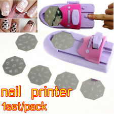 Nail Art Printing Machine DIY Drawing Pattern Stamper Polish Manicure Printer