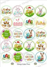 EASTER Cupcake Toppers Edible Icing sheet 20 x 5cm