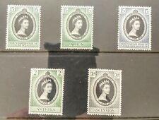 British Coronation Stamps 1953