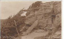 Lovers' Seat Before 1910 Landslip, FAIRLIGHT, Sussex RP