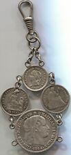 Unique 4 Silver Coin Love Token - Lot # Ec 3352 B