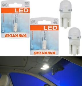 Sylvania Premium LED light 2825 White Two Bulbs Dashboard Gauge Cluster Replace