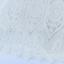 Vintage Royal Pattern Embroidery African French Lace Fabric By The Yard