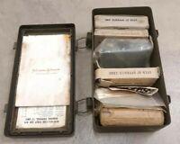 Vietnam Era US Army Military Issue First Aid Kit Box