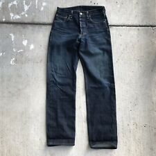 Men's Levis 501 Redline Selvage Denim Jeans Size 30x34