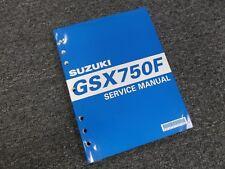 2003-2006 Suzuki Katana GSX750F Factory Shop Service Repair Manual 2004