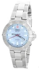 Wenger Swiss Army Blue Mother of Pearl Dial Women's Military Watch 79173