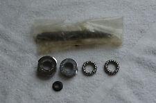Sugino Bottom Bracket set, english thread, missing locking ring and nut