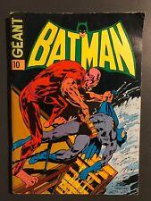 BATMAN GEANT (Sagedition - 1ère série - V1) - T10 : juin 1974