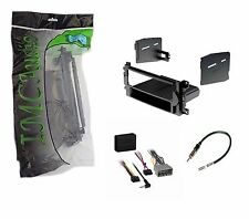 Single Din Dash Kit for Radio Stereo Install Installation w Wire Interface