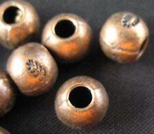 40pcs Antiqued Copper Leaf Ball Spacer Beads T239c