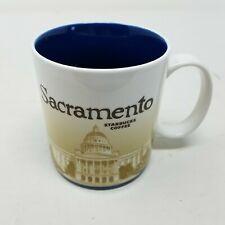 Starbucks Sacramento State Capitol Global Icon City Series 16 oz Coffee Mug 2010