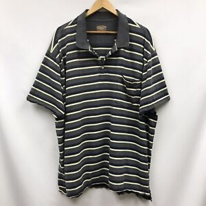 Mens Size 3XL Shirt Gray Blue Yellow The Foundry Supply Co
