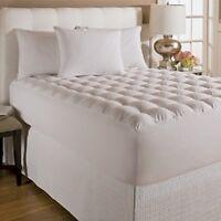 Wellrest Top Magic Loft Bedding Cover Pillow Mattress Topper Comforter Open Box