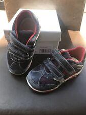 GEOX Respira Balu Navy/Red Boys Toddler Shoes 5,5/US 21/EU