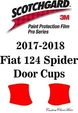 3M Scotchgard Paint Protection Film Pro Series Clear 2017 2018 Fiat 124 Spider