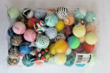 "Large Bouncy Bouncing Balls 50 Pieces Approx 1.5"" Various Colors Fun Express NEW"