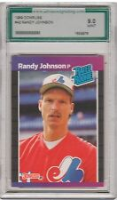 1989 Donruss #42 Randy Johnson Rated Rookie Card Graded AGS 9 Montreal Expos