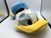 Donald Duck Hong Kong Disneyland Disney Hat Cap Plush Stuffed Toy Animal Adult