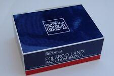 Bronica Polaroid Land Pack Film Back G (GS-1) Medium Format 6x7, Excellent