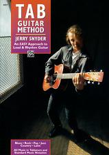 TAB GUITAR METHOD Learn How To Play Lead & Rhythm Sheet Music Book