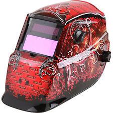 Lincoln Electric Auto Darkening Welding Helmet With Grind Mode Red Grunge