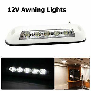 LED Awning Light 12V White Waterproof Long Strip Lamp Caravan Motorhome UK