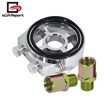 M20 X 1.5 Car Oil Filter Sandwich Plate Adapter Sensor Temp Pressure Gauge