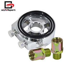 M20 X 1.5 Car Oil Filter Sandwich Plate Adapter Sensor Temp Pressure Gauge