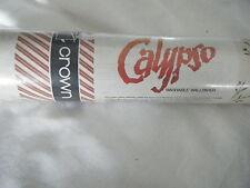 C4 Wallpaper Crown Calypso x5 Rolls W40 VINTAGE
