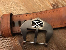 26mm bronze watch buckle .Flottiglia Decima,with patina fits Panerai ,Radiomir .
