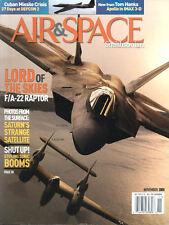 AIR & SPACE NOV 05 USAF F/A-22 RAPTOR / CUBAN MISSILE CRISIS SAC B-52 ALERT 1962