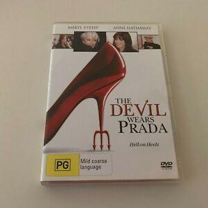 The Devil Wears Prada 2007 movie DVD Meryl Streep Anne Hathaway Region 4