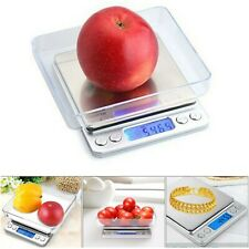 Electronic Pocket Digital LCD Weighing Scales Food Jewelry Kitchen 0.01g to 500g