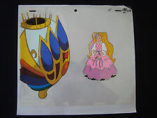 Lady Lovely Locks Original Animation Production Cel with drawing DiC B