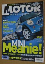 Motor Jul 2002 Brock's Holden Monaro CV8, Toyota Celica ZR, Honda Integra Type-R