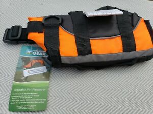 Guardian Gear Aquatic Pet Preserver Safety Life Jacket Yellow XX-Small NWT