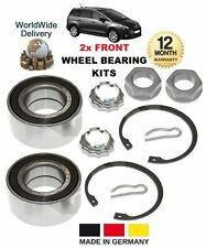 FOR PEUGEOT 5008 MPV 1.6 2.0 HDi 2009-->ON NEW 2x FRONT WHEEL BEARING KITS