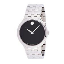 Reloj de cuarzo Movado 0607415 Para hombres negro veturi