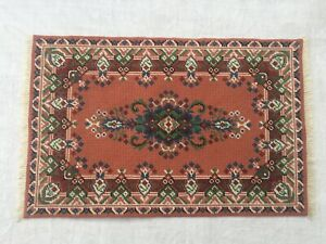 QUALITY ARTISAN HAND STITCHED STUNNING RUG CARPET DOLLS HOUSE DOLLHOUSE