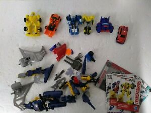 Job Lot Transformers Small Toy Figures - DIS