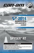 Can-Am Owners Manual 2014 SPYDER RT